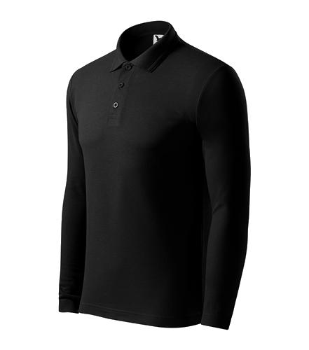 Pánská polokošile Pique Polo L černá