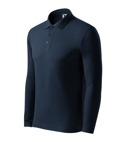 Pánská polokošile Pique Polo L námořní modrá