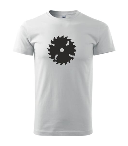 Tričko Pila XS bílá