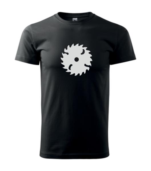 Tričko Pila XS černá