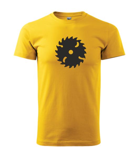 Tričko Pila XS žlutá