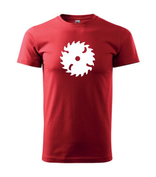 Tričko Pila XS červená