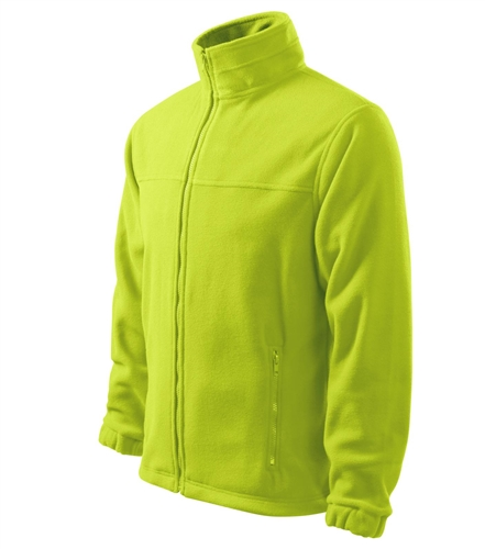 Bunda pánská Fleece Jacket S limetková