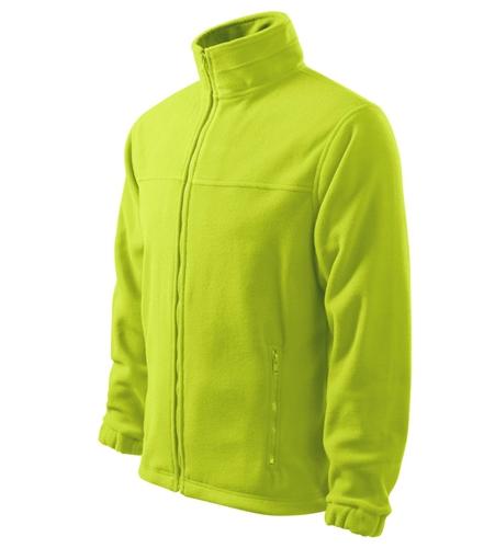 Bunda pánská Fleece Jacket XL limetková