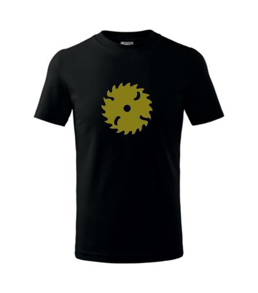 dětské tričko Pila černá 134