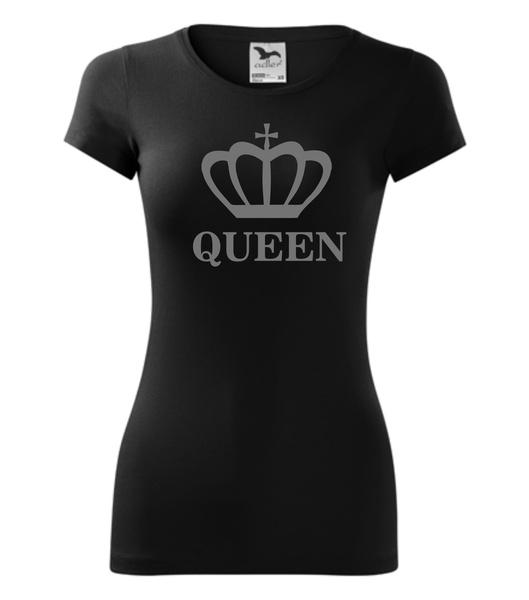 Tričko QUEEN černé XL REFLEXNÍ