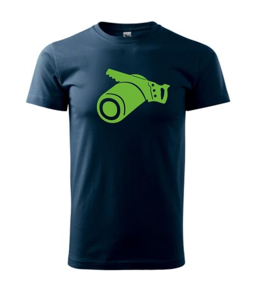 Tričko Tesař M námořní modrá