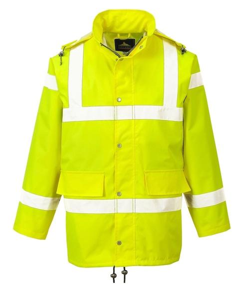 Reflexní prodyšná bunda XXL reflexní žlutá