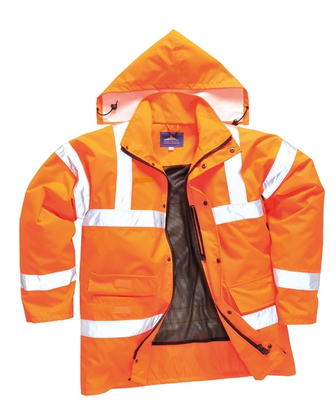Reflexní prodyšná bunda XXXL reflexní oranžová