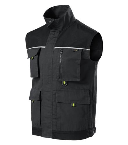 Ranger pracovní vesta L ebony gray