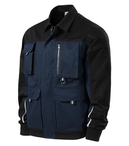 Woody pracovní bunda L námořní modrá
