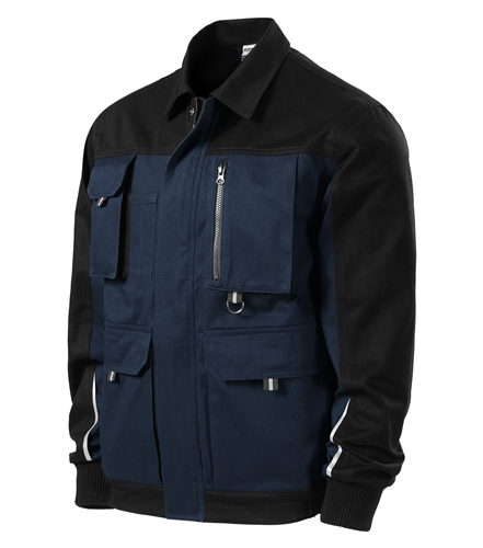 Woody pracovní bunda S námořní modrá