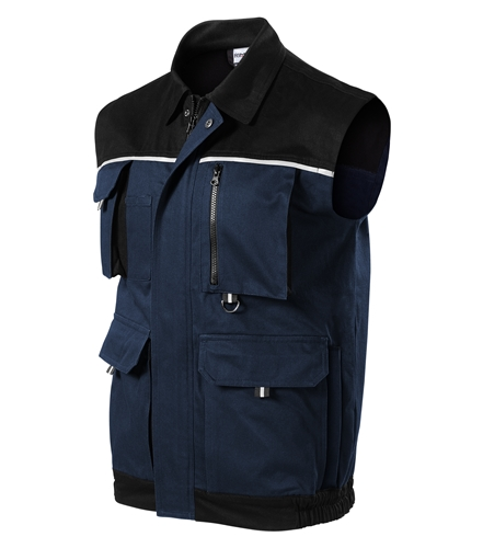 Woody pracovní vesta XL námořní modrá