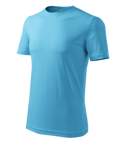 Tričko pánské barevné M tyrkysová