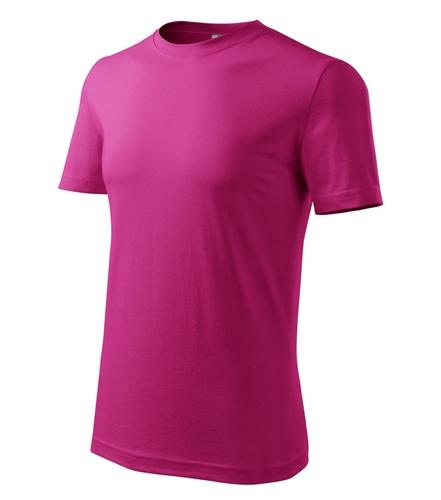 Tričko pánské barevné XL purpurová