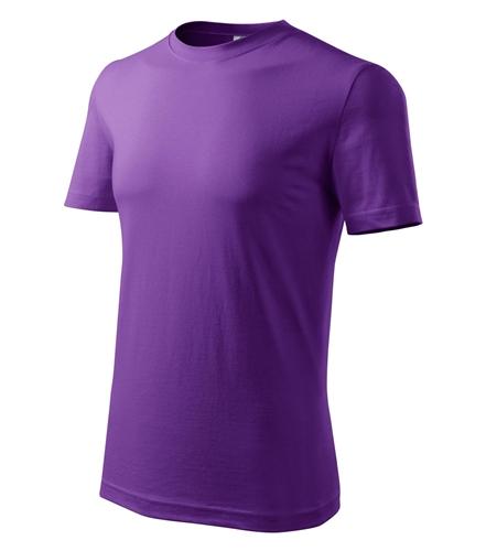 Tričko pánské barevné M fialová