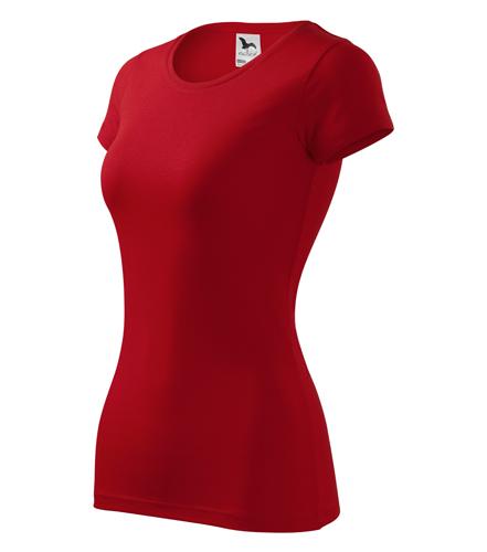 Tričko dámské GLANCE XXL červená