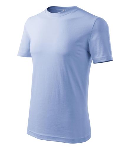 Tričko pánské barevné CLASSIC NEW XL nebesky modrá