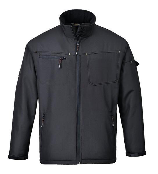 Softshelová bunda Zinc XXXL černá