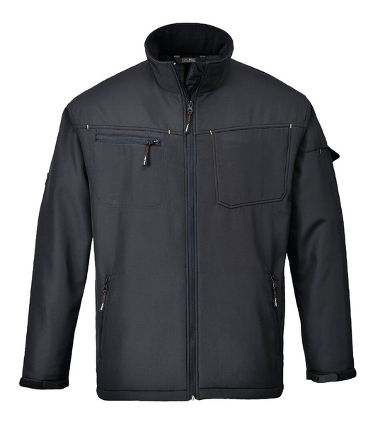 Softshelová bunda Zinc XL černá