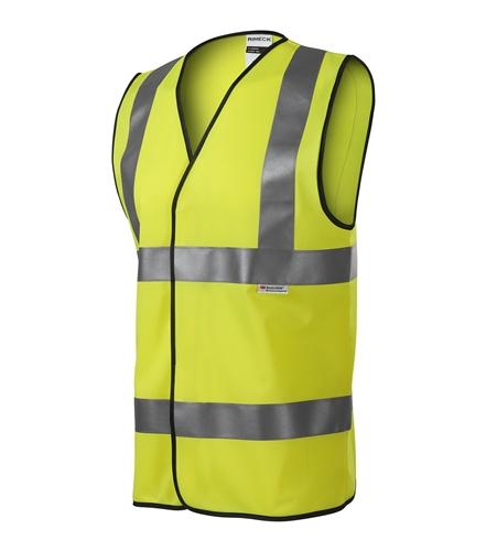 Bezpečnostní vesta unisex M reflexní žlutá