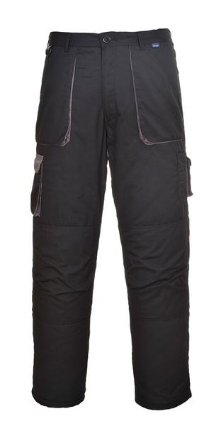 Portwest Texo dvoubarevné kalhoty M černá