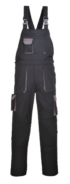 Portwest Texo laclové dvoubarevné kalhoty M černá