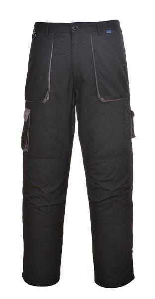 Portwest Texo zateplené kalhoty L černá