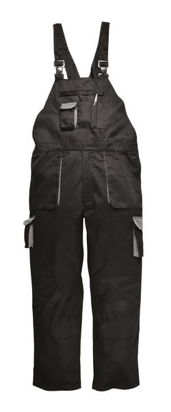 Portwest Texo zateplené laclové kalhoty M černá