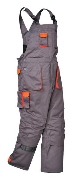Portwest Texo zateplené laclové kalhoty M šedá