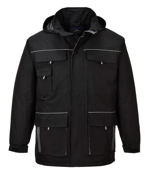 Portwest Texo bunda do deště L černá