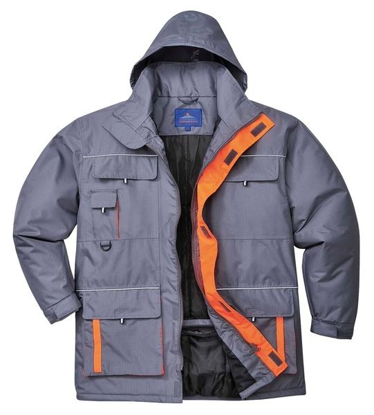 Portwest Texo bunda do deště XXL šedá