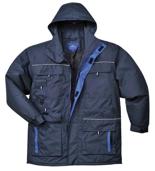 Portwest Texo bunda do deště XL námořní modrá