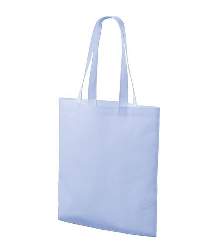 Nákupní taška Bloom nebesky modrá