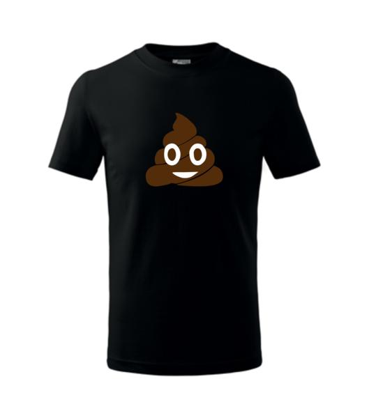 Tričko Emoji 158/12 let černá
