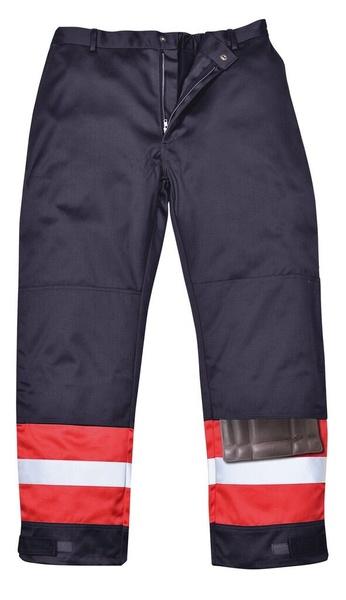 Kalhoty Bizflame Plus M námořní modrá