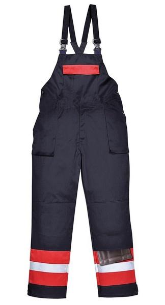 Laclové kalhoty Bizflame Plus XXL námořní modrá