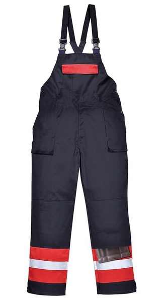 Laclové kalhoty Bizflame Plus 4XL námořní modrá