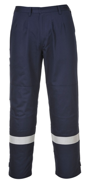 Kalhoty Bizflame Plus XL námořní modrá