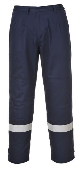 Kalhoty Bizflame Plus XXXL námořní modrá