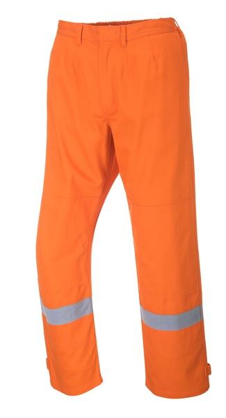 Kalhoty Bizflame Plus M oranžová