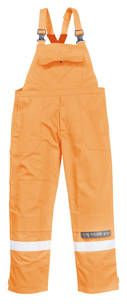 Kalhoty s laclem Bizflame Plus S oranžová