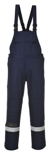 Kalhoty s laclem Bizflame Plus M námořní modrá