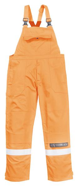 Kalhoty s laclem Bizflame Plus M oranžová