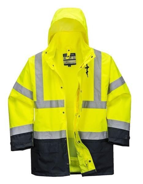 Bunda HiVis Executive 5v1 S neon yellow