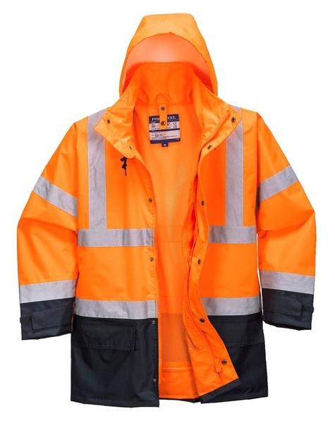 Bunda HiVis Executive 5v1 S neon orange