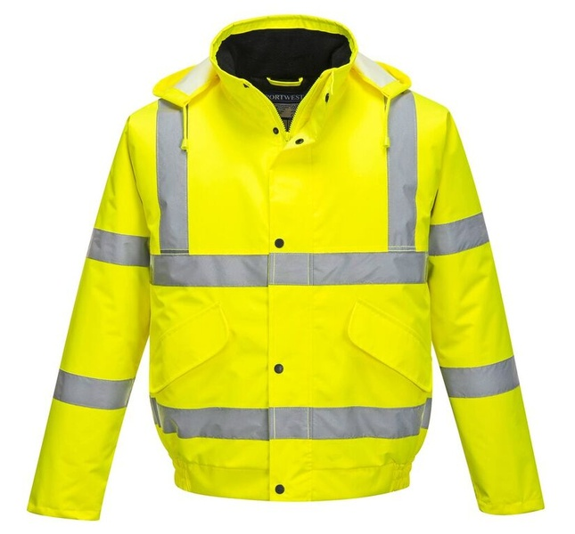 Reflexní bunda XXS-8XL 5XL neon yellow
