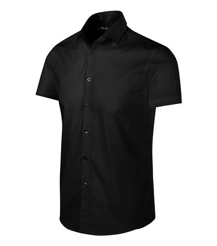 Košile pánská FLASH XXL černá