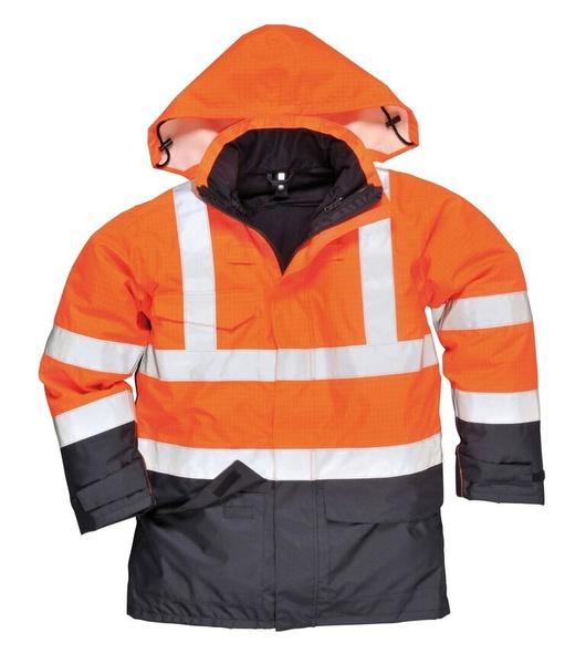 Bunda Hi-Vis Multi-Protection M neon orange