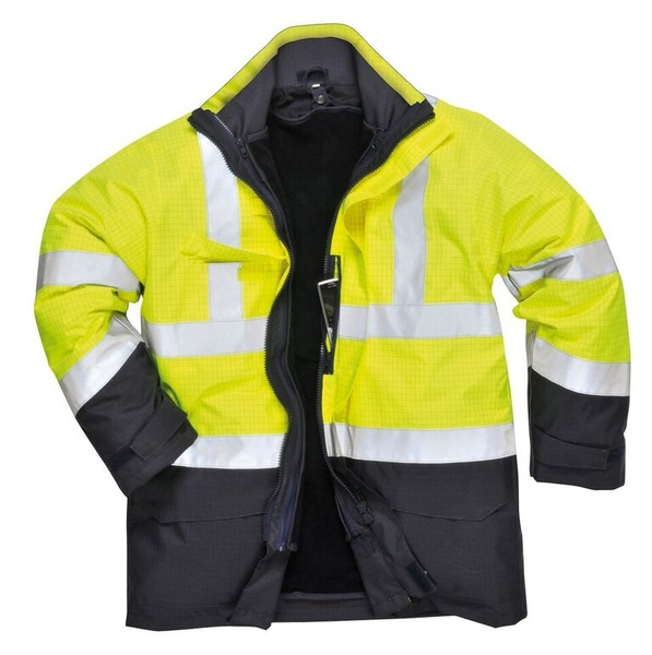 Bunda Hi-Vis Multi-Protection XL neon yellow